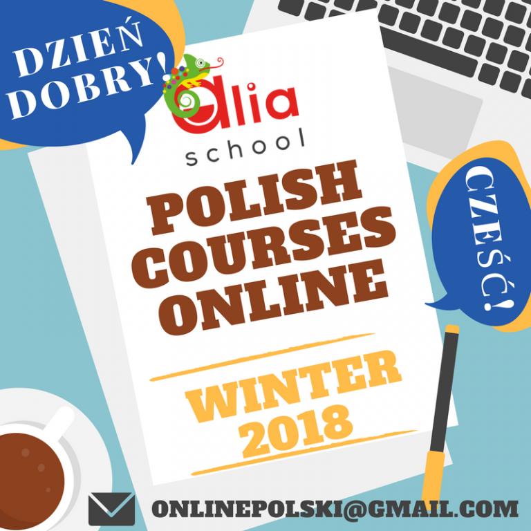 ALIA School, Polish courses, Курсы польского